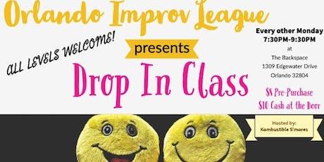 Drop In class! Orlando Improv League tickets