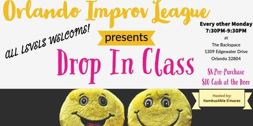 Drop In class! Orlando Improv League