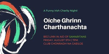 A Funny Irish Charity Night / Oíche Ghrinn Charthanachta tickets