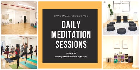 Daily Mindfulness & Midday Boost Meditation and Yoga Sessions tickets