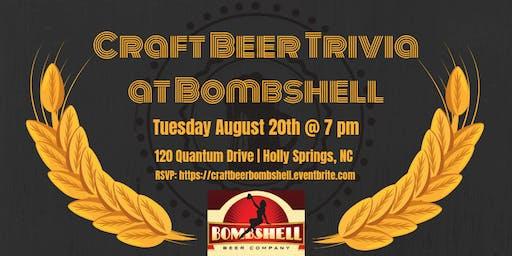 Craft Beer Trivia at Bombshell Beer Company