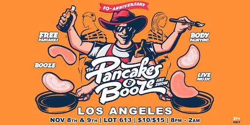The Los Angeles Pancakes & Booze Art Show