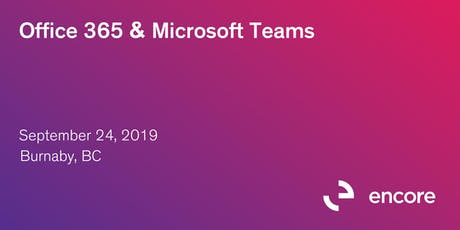 Office 365 & Microsoft Teams tickets