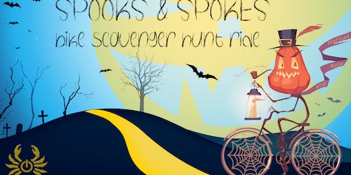 Wear Yellow Nebraska Presents: The Spooks & Spokes Bike Scavenger Hunt Ride II