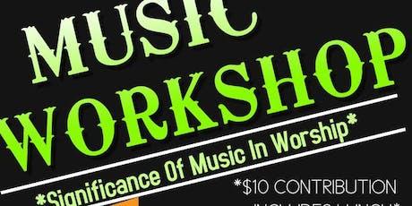 Illinois State Choir Music Workshop tickets