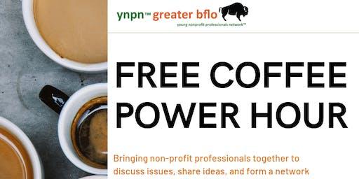 YNPN August Coffee Power Hour