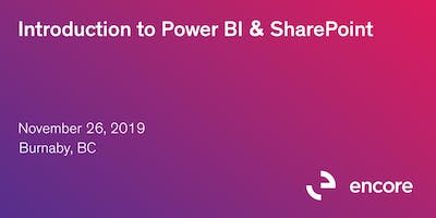 Introduction to Power BI & SharePoint