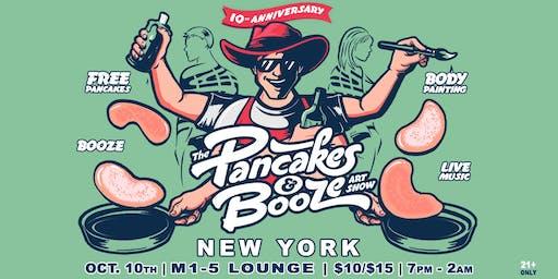 The New York City Pancakes & Booze Art Show