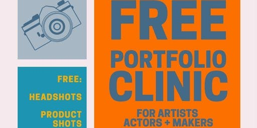 Free Portfolio Clinic for Actors, Artists and Makers