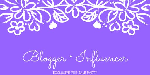 Blogger • Influencer Pre-sale Party | Issaquah Fall 2019