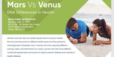 Mars Vs Venus: DNA Differences in Health