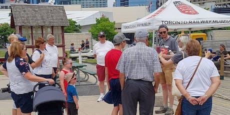 Toronto Railway Museum Roundhouse Park Tours tickets