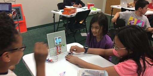 Build, Code, and Play with littleBits Circuits Summer Camp