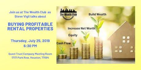 Buying Profitable Rental Properties tickets