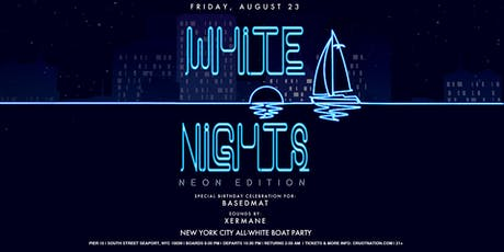 All White Affair NEON EDITION Boat Party Yacht Cruise 90% SOLD OUT tickets