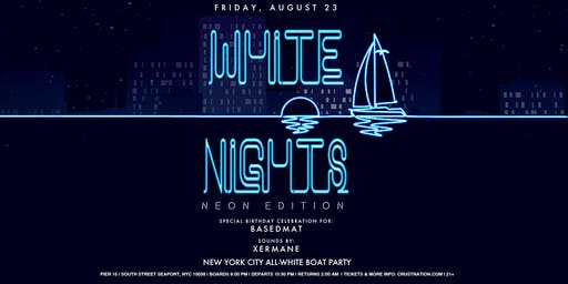 All White Affair - White Nights NEON EDITION Boat Party - Yacht Cruise NYC