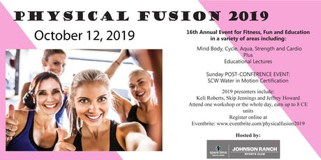 Physical Fusion tickets