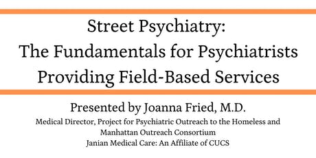 Street Psychiatry Training tickets