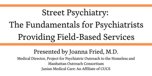 Street Psychiatry Training