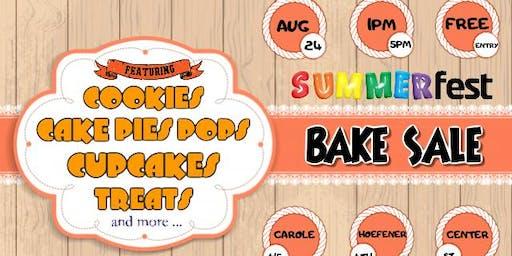 SummerFEST Bake Sale