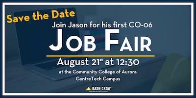 Jason Crow's CO-6 Job Fair