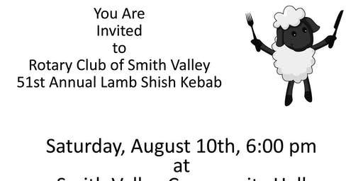 Rotary Club of Smith Valley's 51st Annual Lamb Shish Kebab Dinner