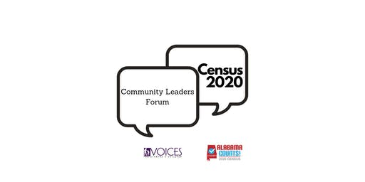 Census 2020 Community Leaders Forum-Tuscaloosa