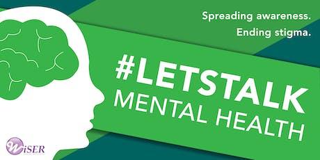 #LETSTALK Mental Health tickets