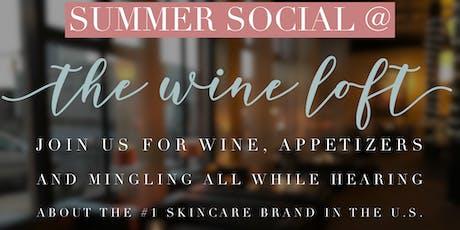 Summer Social @ The Wine Loft tickets