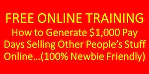 How To Make $1,000 Per Day Selling Other People's...