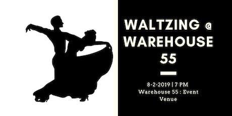 Dance Workshop : Waltzing at Warehouse 55  tickets