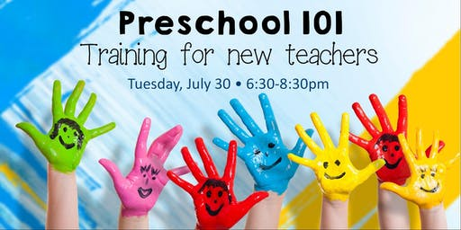 Preschool 101: Training for New Teachers