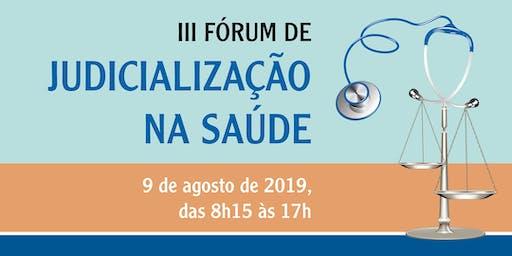 III Fórum de Judicialização na Saúde