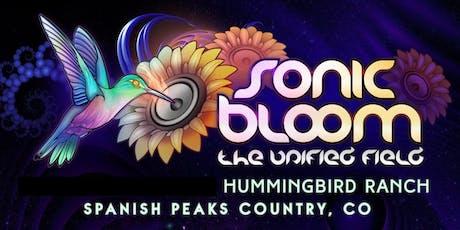 SONIC BLOOM 2020 tickets