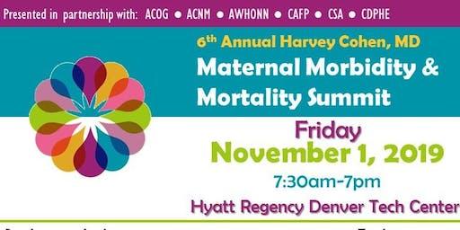 Harvey Cohen MD Maternal Morbidity Mortality Summit EXHIBITOR/SPONSOR