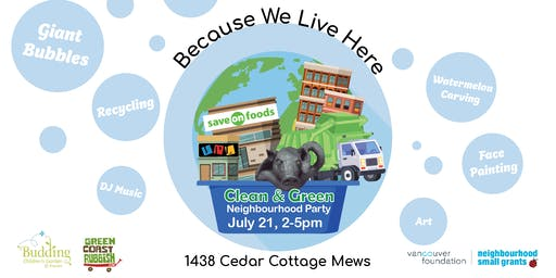 Clean & Green 2019 Recycling Summer Party