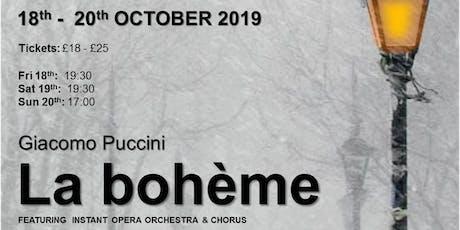 Instant Opera - La bohème  tickets