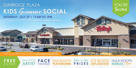 Kids Summer Social at Sunridge Plaza tickets