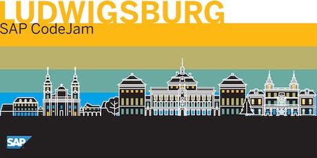 SAP CodeJam Ludwigsburg tickets