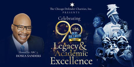Bud Billiken Parade 90 Years of Legacy - Scholarship Reception tickets