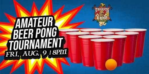 Thirsty Lion Tavern's Amateur Beer Pong