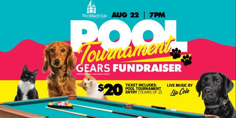 Pool Tournament GEARS Fundraiser tickets