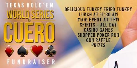 World Series of Cuero Poker Tournament tickets