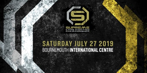 Supreme Cage Fighting Championship - (Showtime MMA 12)