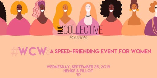 #WCW: A Speed Friending Event For Women