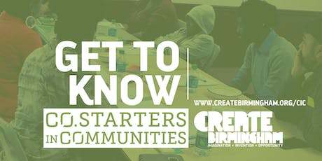 Get To Know CO.STARTERS in Communities tickets
