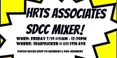 HRTS Associates LA: SDCC Mixer
