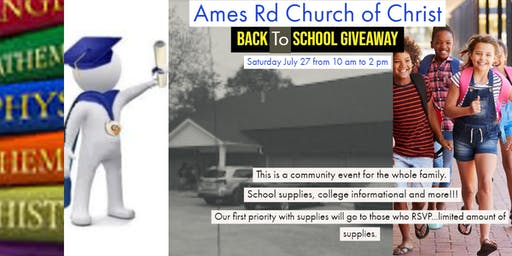 Back to School Giveaway & College Informational