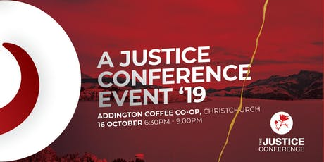 Justice Conference Event Christchurch 2019 tickets