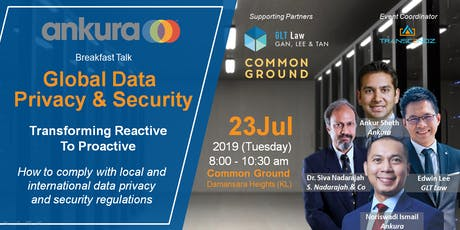 Global Data Privacy & Security tickets